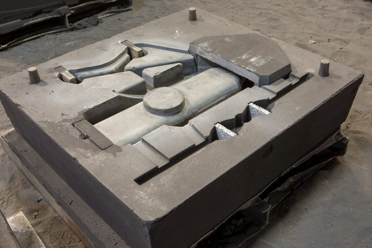 Clinch River Casting Molding Foundry Mold