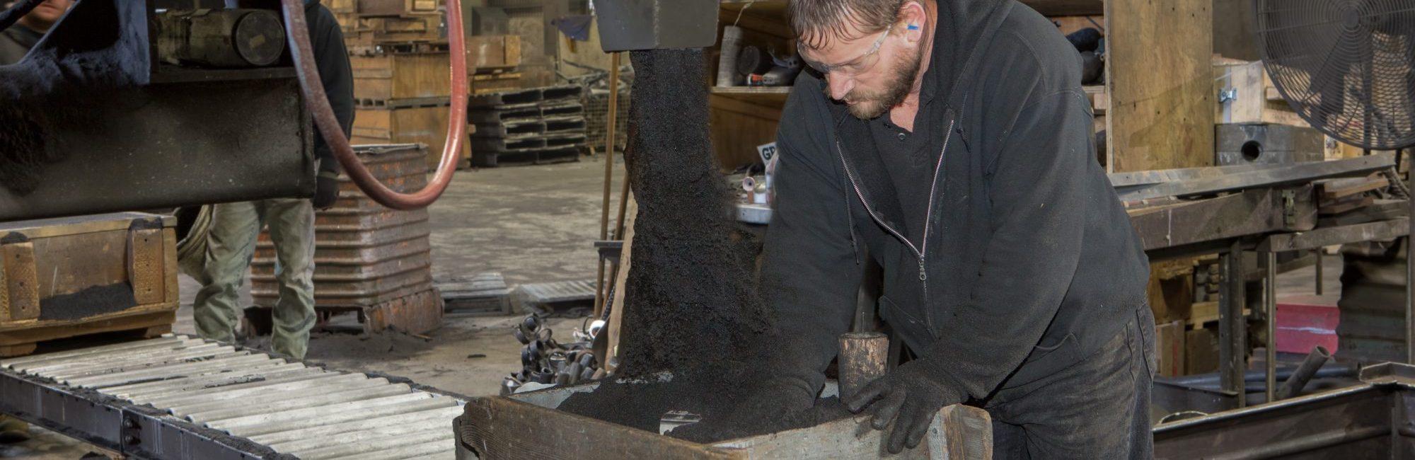 custom iron casting molding