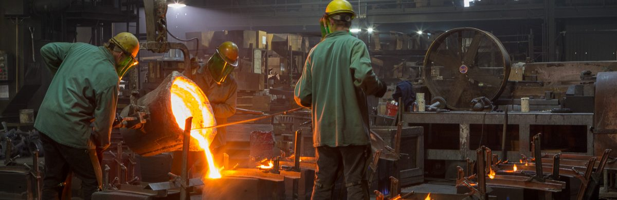 Iron casting foundry - gray iron casting