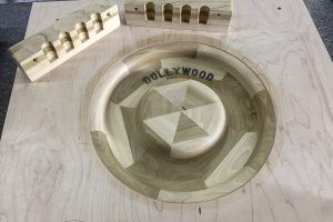 mold for dollywood created by clinch river casting